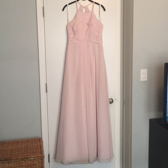 2cc0c4b461a91 Azazie Dresses   Skirts - Azazie Ginger Bridesmaid Dress - Blushing Pink